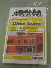 Smalltown USA HO #699-6005 City Buildings -- Dime Store & Offices 4 x 4-1/8""