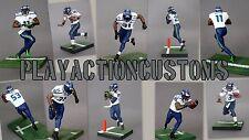 Choice of 1 Seattle Seahawks Custom  Action Figure made w/ Mcfarlane NFL
