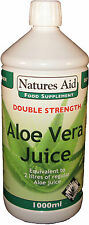 Aloe Vera Juice (Double Strength) 1000ml  - Natures Aid