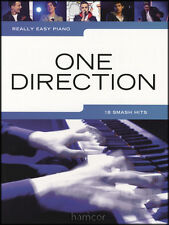 Really Easy Piano One Direction Music Book What Makes You Beautiful 1D