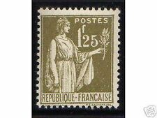 """FRANCE STAMP TIMBRE N° 287 """" TYPE PAIX 1F25 OLIVE """" NEUF xx TTB, VALEUR: 215€"""