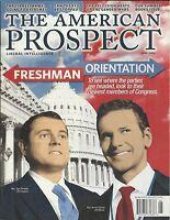 The American Prospect Magazine Congress Freeshmen Aaron Schock Tom Perriello
