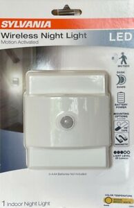 Sylvania Wireless Motion Activated LED Night Light - Battery Operated - White