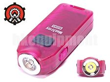 MecArmy SGN5 Self-Defense Siren Alarm USB Rechargeable LED Flashlight RED