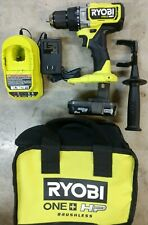 Ryobi One Hp Hammer Drill Kit With 20ah Battery Amp Charger Model Plhm101