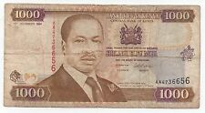 KENYA 1000 SHILLINGS 1994 PICK 34 A LOOK SCANS