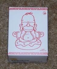 WONDERCON 2015 EXCLUSIVE KIDROBOT GOLD COLORED BUDDHA HOMER SIMPSON