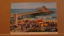 Postcard Posted 1976 Dorset Bournemouth pier from west cliff