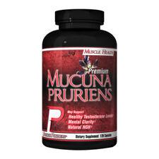 Mucuna Pruriens 325mg L-Dopa Velvet Bean - 120 caps - Boost Test MUSCLE