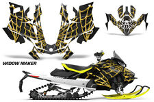 Graphic Kit Decal Wrap For Ski Doo Gen 4 MXZ Renegade Summit 850 17-18 WIDOW Y K