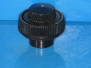 PHILCO RADIO PARTS KNOBS ORININAL  ( 2 ) BLACK IN COLOR FOR THE HIGH END PHILCOS