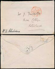 More details for political gb 1884 gladstone handstamp on official paid envelope to peterhead