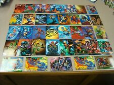 SPIDERMAN TRADING CARD LOT ASSORTMENT-52 CARDS