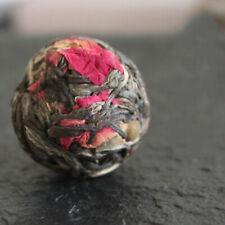 10pcs Yunnan Raw Pu'er Flower Tea Rose Flower Dragon Ball Puerh Tea Mini Tuo Cha