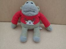 PG TIPS TEA Chimp Small Red Christmas Jumper Top Soft Toy Cute monkey   (Y174)