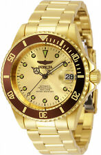 Invicta Men's Pro Diver Automatic 200m Gold Tone Stainless Steel Watch 34766