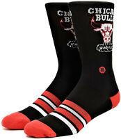 Calze Uomo Nero Stance Men Athletic Combed Cotton Medioum Cushion Chicago Bul...