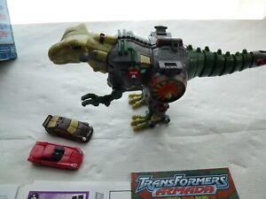 Transformers Armada Predacon w Sideburn and Skidz Maxcon Assortment 2002 Hasbro