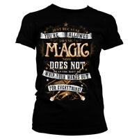 Officially Licensed Harry Potter Magic Women T-Shirt S-XXL Sizes
