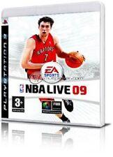 NBA LIVE 09 BASKET GIOCO USATO PER PS3 ps 3