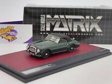 Matrix 50108-112 # Aston Martin DB2 Vantage Drophead Coupe zu Bj. 1952 grün 1:43