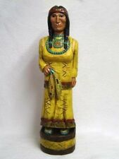 4'-5' & 6' Corn Maiden Yellow Skirt Baby in Papoose CIGAR STORE INDIAN Gallagher