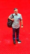 O Gauge1.43 finescale resin Handpainted Figure man coach/lorry driver