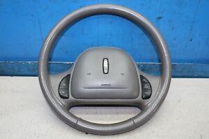 Lincoln Ciudad Car III 1999 Gris Cuero Volante Airbag 30303566B Dirección Wheel