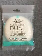 Daily Concepts Exfoliating Dual Texture Body Scrubber Mild All Skin Types New