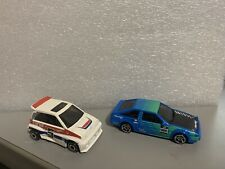 HOT WHEELS toyota trueno AE86 + Honda City Turbo ii M 2021 🔥🔥UNSPUN PROTOTYPES