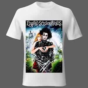 Mens t-shirt MEDIUM Movie Music Woman Edward Scissorhands Johnny Depp UK seller