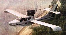 A-25 Glory Amphibian Aeroprakt A25 Airplane Kiln Wood Model Replica Small New