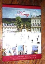 Jeu de 54 cartes à jouer Nancy (Lorraine) les plus belles vues place stanislas