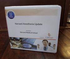 Harvard Anesthesia Update 784 – Harvard Medical School - 15 DVD Kit - 2012 – NEW