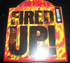 Funky Green Dogs Fired Up Australian Remixes Card Sleeve CD Single