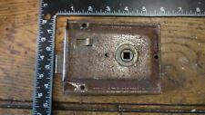 L67 Reclaimed Old Victorian Rim Lock / Door Latch
