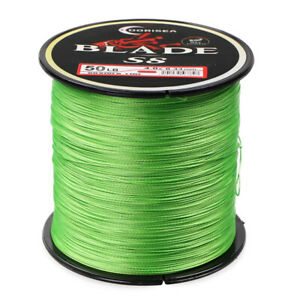 DORISEA BLADE 8 Strand Fluorescent Green pe Braided Fishing Line 100M 300M 1000M