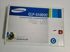 New Genuine Samsung CLP-510D2C Cyan Laserjet Printer Cartridge