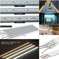 5PCS LED Rigid Light Bar 36 LED Hard Tube Strip 5630 SMD Showcase Lamps 30/50CM