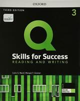 Q: Skills for Success: Level 3: Reading and Writing Student Book with iQ Online