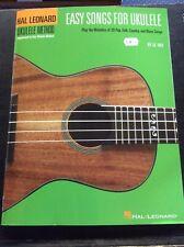 New Hal Leonard Easy Songs for the Ukulele Music Book