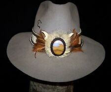 Vintage Custom Charlie 1 Horse Cowboy Hat (tan 6 7/8)