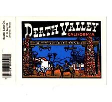 Lot of 12 Death Valley, CA Souvenir Luggage Decals Stickers - New - Free S&H