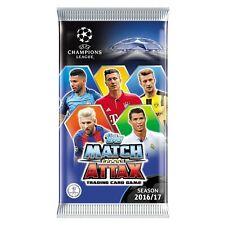 Match Attax Champions League 16 17  Logos,Goal King und Duo ( 2 Karten aussuchen