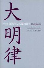 The Great Ming Code  Da Ming lu (Americana Library (AL))