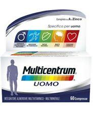 Multicentrum Uomo 60 Compresse Pfizer Italia DIV.Consum.Healt