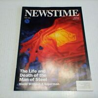 Newstime Magazine The Life and Death of Superman (DC)1993 -- UNREAD!! -- VF --