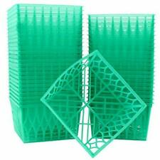 Set of 4inch Plastic Berry Boxes 48pack One Pint Berry Baskets Openweave F 48