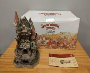 Enesco David Winter Cottages Witch's Castle #D1025 Limited Edition w/COA