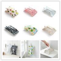 Creative Wall Hanging Type Tissue Box For Bathroom Toilet Paper Napkin Holder UK